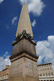 Vatican obelisk in St. Peter in Rome Royalty Free Stock Photo