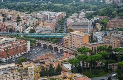 Aerial view of Vatican City royalty free stock image