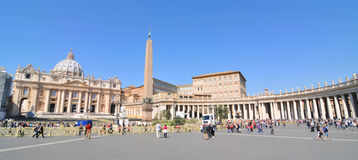 Vatican panorama Stock Images
