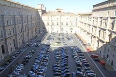 Vatican parking Stock Photo