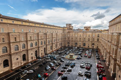 Vatican Parking Lot Royalty Free Stock Photos