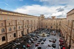 Vatican Parking Lot Royalty Free Stock Photos