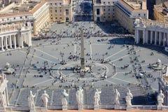 Vatican, place du ` s de St Peter Images stock