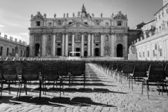 Vatican Place in Rome royalty free stock photography