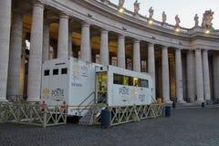 Vatican. Post office. Basilica of Saint Peters square. Rome. Italy. Katolic basilica  roma italy vatican post office saint peters square rome communication royalty free stock photo