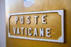Vatican post Stock Photography