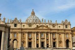 vatican Quadrato del Peter del san Fotografia Stock