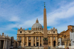 vatican Quadrato del Peter del san Immagini Stock