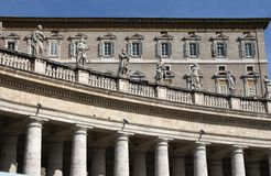 The Vatican Residence Royalty Free Stock Image
