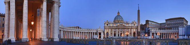 Vatican Rise 02 Pan Stock Photography