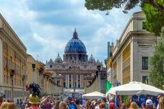 Vatican Roma Italia Immagine Stock Libera da Diritti