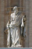 Vatican Rome. Statue in the Vatican Rome Royalty Free Stock Photo