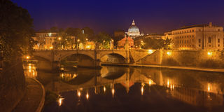 Vatican Rome Bridge Rise Royalty Free Stock Photography