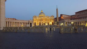 Vatican, Rome, St. Peter`s Basilica stock footage