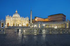Vatican, Rome, St. Peter's Basilica Stock Photo