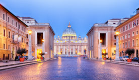 Vatican, Rome, St. Peter's Basilica, Italy Royalty Free Stock Images