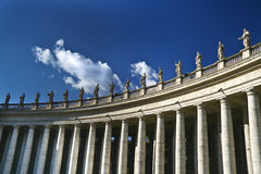 Vatican's saints stock photography