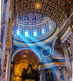 Vatican,  Saint Peter's Cathedral Dome Royalty Free Stock Photo