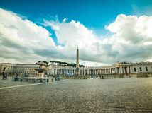 Vatican Saint Peter's Square Stock Photography