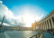 Vatican Saint Peter's Square Royalty Free Stock Image