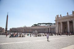 Vatican - Saint Peter s square royalty free stock image