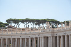 Vatican - Saint Peter s square royalty free stock photo