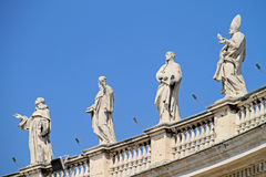 Vatican. Sant Peter's Square Royalty Free Stock Photos