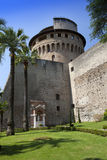 VATICAN 20 SEPTEMBRE : La tour d'Ioann de saint aux jardins de Vatican le 20 septembre 2010 à Vatican, Rome, Italie Images libres de droits