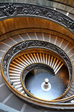 Vatican spiral stairs Royalty Free Stock Image