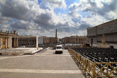 The Vatican square Stock Images