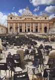 Vatican St Peter Day Vertical Royalty Free Stock Images