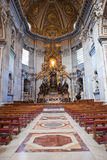 Vatican. St Peter's Basilica. stock photo