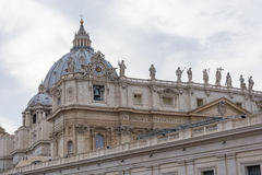 Vatican St. Peter´s Basilica Royalty Free Stock Photography