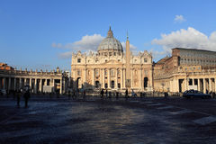 Vatican St. Peters Basilica royalty free stock image