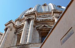 Vatican. St. Peters Basilica in the Vatican Stock Photos