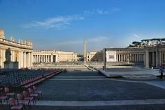 Vatican - St. Peters Basilica - Rome - Italy Stock Images
