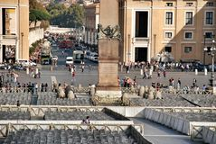 Vatican - St. Peters Basilica - Rome - Italy Royalty Free Stock Images