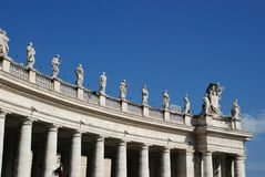 Vatican - St. Peters Basilica - Rome - Italy Stock Photo
