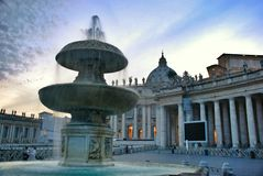 Vatican - St. Peters Basilica - Rome - Italy Royalty Free Stock Image