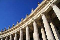 Vatican - St. Peters square Stock Photos