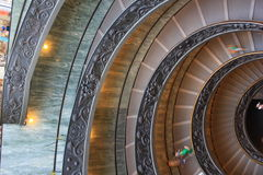 Vatican staircase Royalty Free Stock Photo