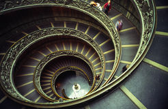 Vatican stairs Stock Image