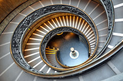Vatican stairs Royalty Free Stock Photo