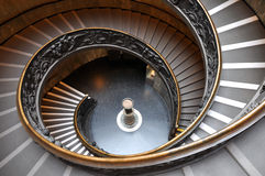 Vatican stairs Royalty Free Stock Photos