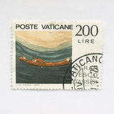 Vatican Stamp Royalty Free Stock Image