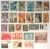 Vatican stamps Stock Photo