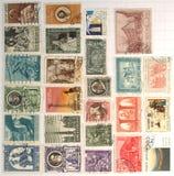 Vatican stamps Stock Photo
