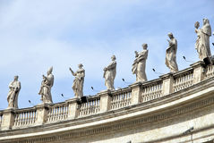 Vatican Statues Royalty Free Stock Photo