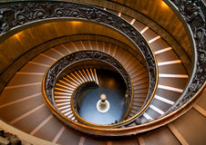 Vatican steps in museum Stock Photography