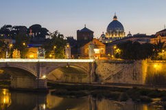 Vatican by sunset Royalty Free Stock Photo